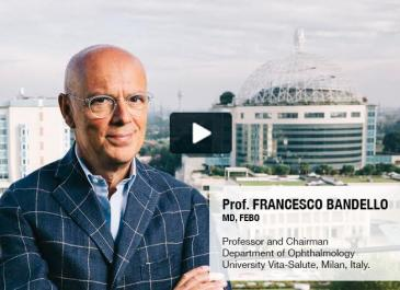 Professor francesco Bandello interview on blue light