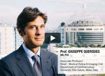Blue Light: Interview with Prof. Giuseppe Querques, Italy. (Highlights)